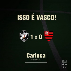 Foto: Página oficial do Club de Regatas Vasco da Gama